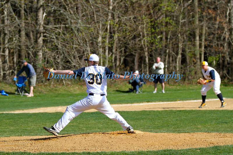 Shoreham Wading River Baseball vs Bayport-Bluepoint 4-20-12