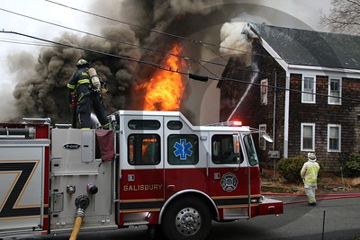 Salisbury MA 4 alarm fire. 1/5/2019