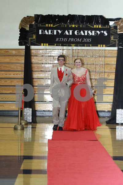 2015 RTHS PROM - THE GRAND MARCH