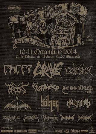 GRAVE – Old Grave Fest  11/10 2014