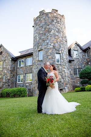 Roslyn and Richard at Castle Lady Hawke NC