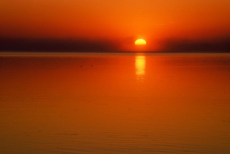 Cold Lake Sunrise #1
