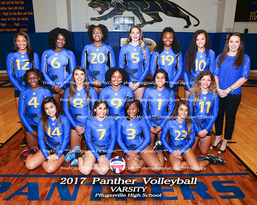 2017 PHS Volleyball