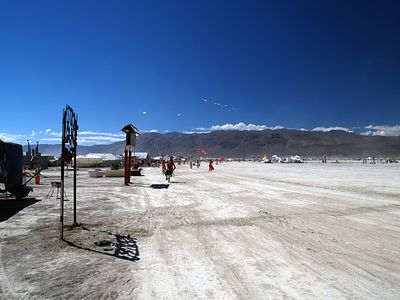 Burning Man 2004 The Esplanade