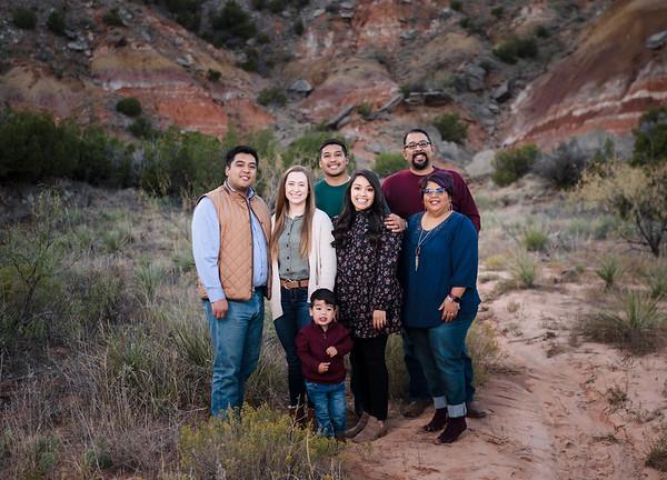 DeLeon family fall 2020