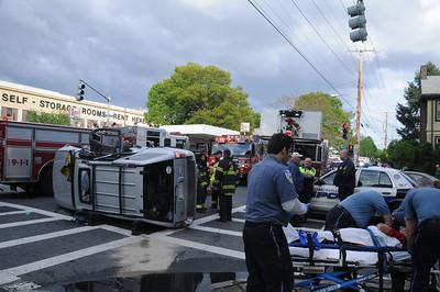 5/10/2012 - SOMERVILLE, MASS - AUTO ACCIDENT MYSTIC VALLEY PKWY & BOSTON AV