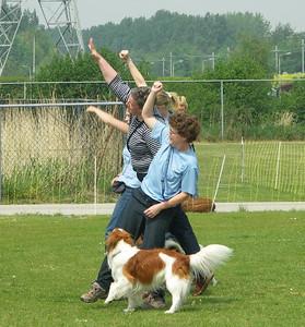 13 mei 2006 Dogdance Demo Open Dag KC Delft