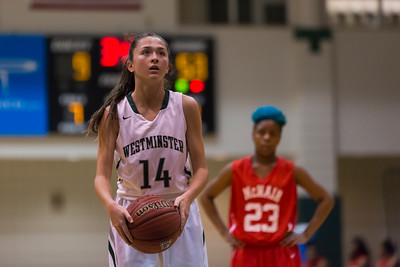 Girls Basketball January 12, 2016