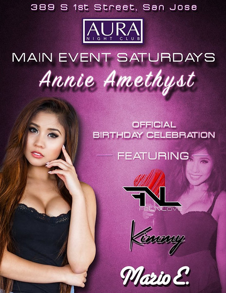 3/5 [Annie Amethyst Birthday Celebration @AURA]
