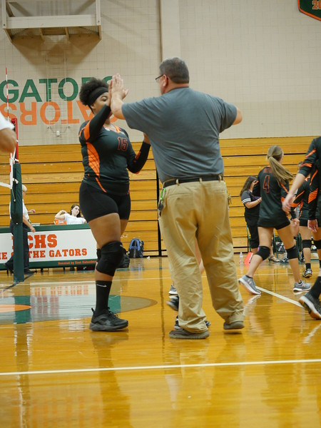 ECHS Varsity Volleyball  8/23/18 - B