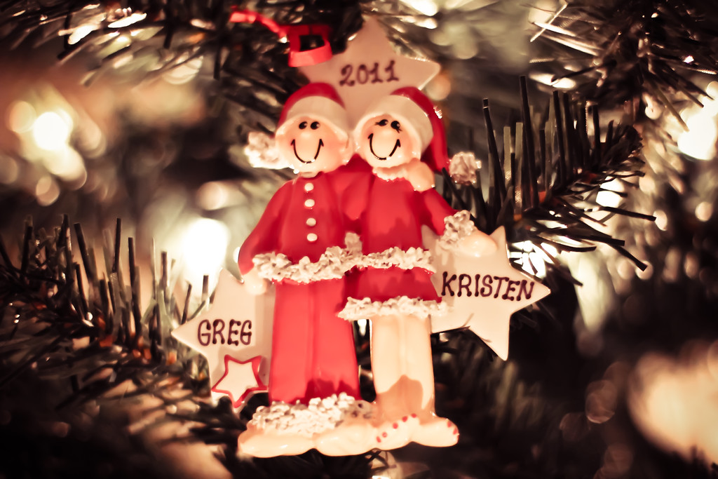 12/12/11<br /> <br /> Thanks to a very special woman, my Christmas tree is no longer ornamentless