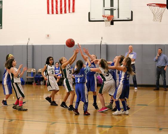 1-28-18 4th Grade Girls Lightning vs. Midland Park