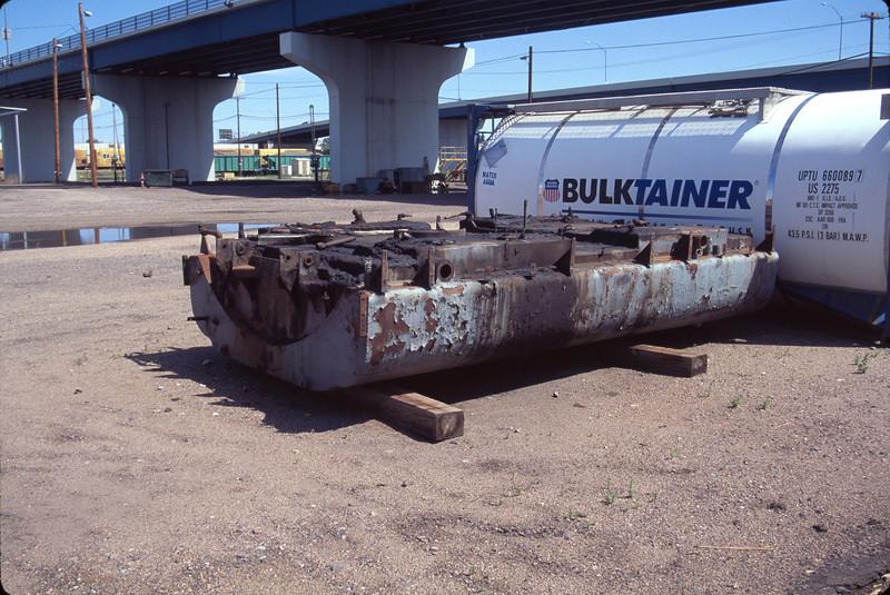 E-unit fuel tank. Cheyenne. July 14, 2000. (Don Strack Photo)