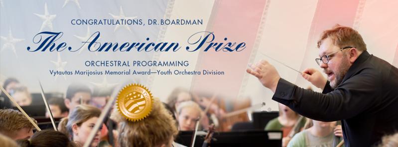 SBYSO American Prize 2018