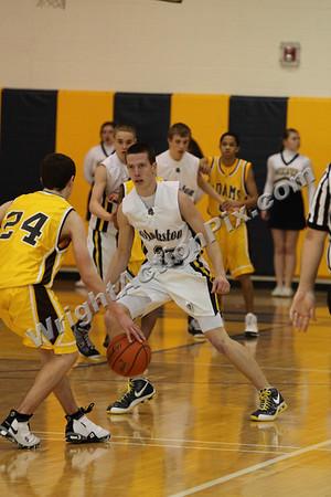 2009 02 24 Freshman Basketball Game vs. Adams