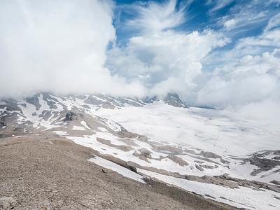 Plaine-morte glacier