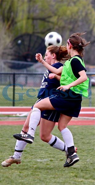 Spring 2012 Alumni Women's Soccer Game