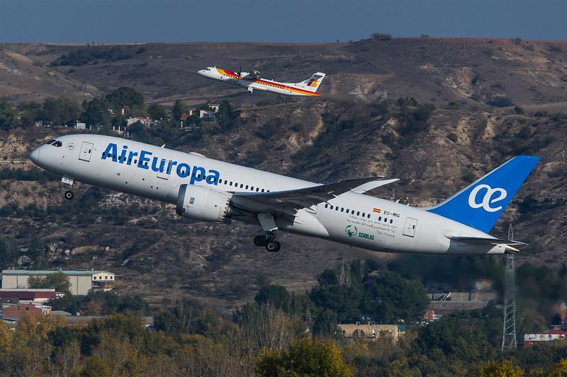 AirEuropa / Boeing B787-8 / EC-MIG