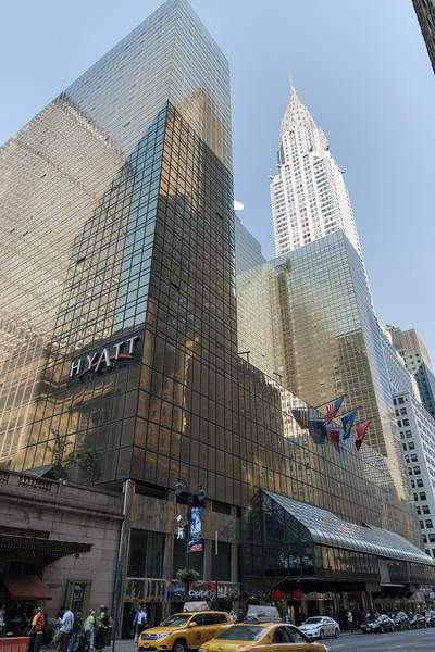 Chrysler Building - New York, NY, USA - August 18, 2015