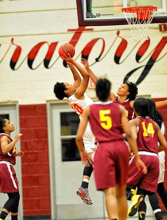 WS Prep vs Atkins girls basketball 02-16-15