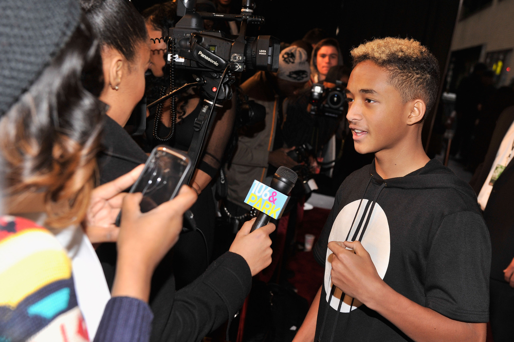 . Jaden Smith attends BET\'s Rip The Runway 2013:Red Carpet at Hammerstein Ballroom on February 27, 2013 in New York City.  (Photo by Stephen Lovekin/Getty Images for BET\'s Rip The Runway)