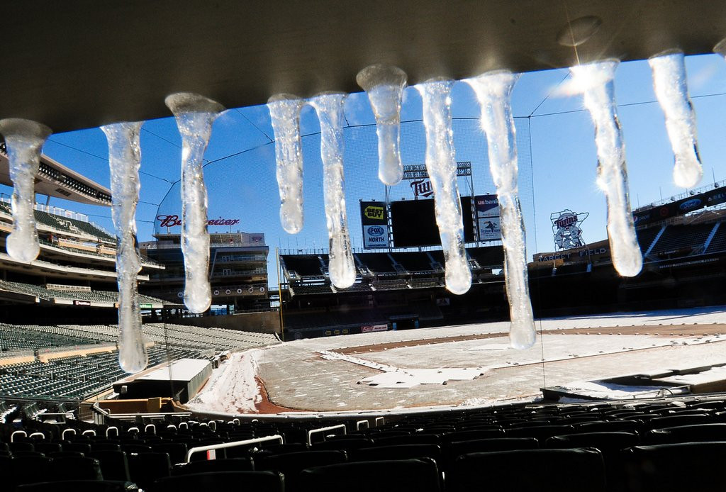 ". <p><b> Target Field officials are excited at reports they�ll be hosting this for one day in 2015� </b> <p> A. NHL�s Winter Classic  <p> B. Baseball�s All-Star Game  <p> C. A winning team from Minnesota  <p><b><a href=\'http://www.fannation.com/truth_and_rumors/view/399933-winter-classic-headed-to-target-field\' target=""_blank\"">HUH?</a></b> <p>   (Pioneer Press: Ben Garvin)"