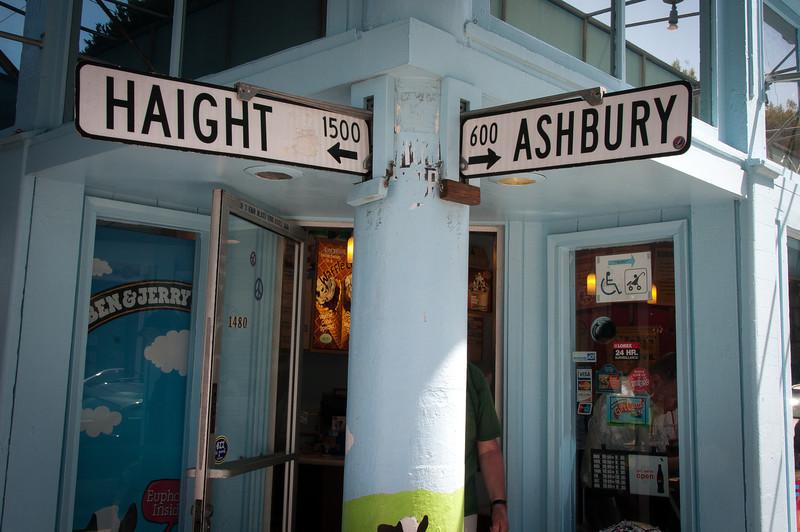 Haight-Ashbury in San Francisco, California