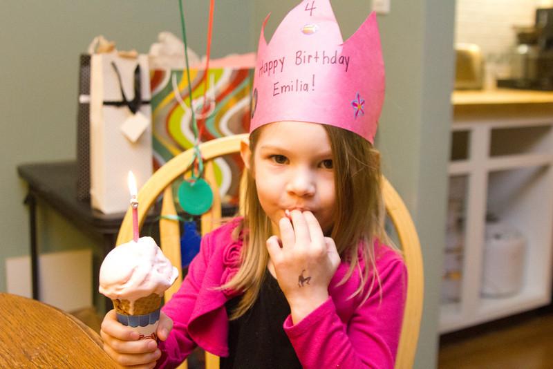Emi's 4th Birthday