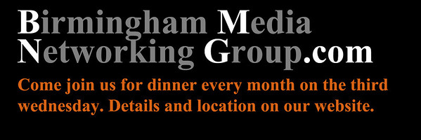 Birmingham Media Networking Group monthly dinner