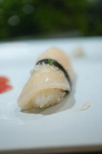 Japanese Scallop Sushi