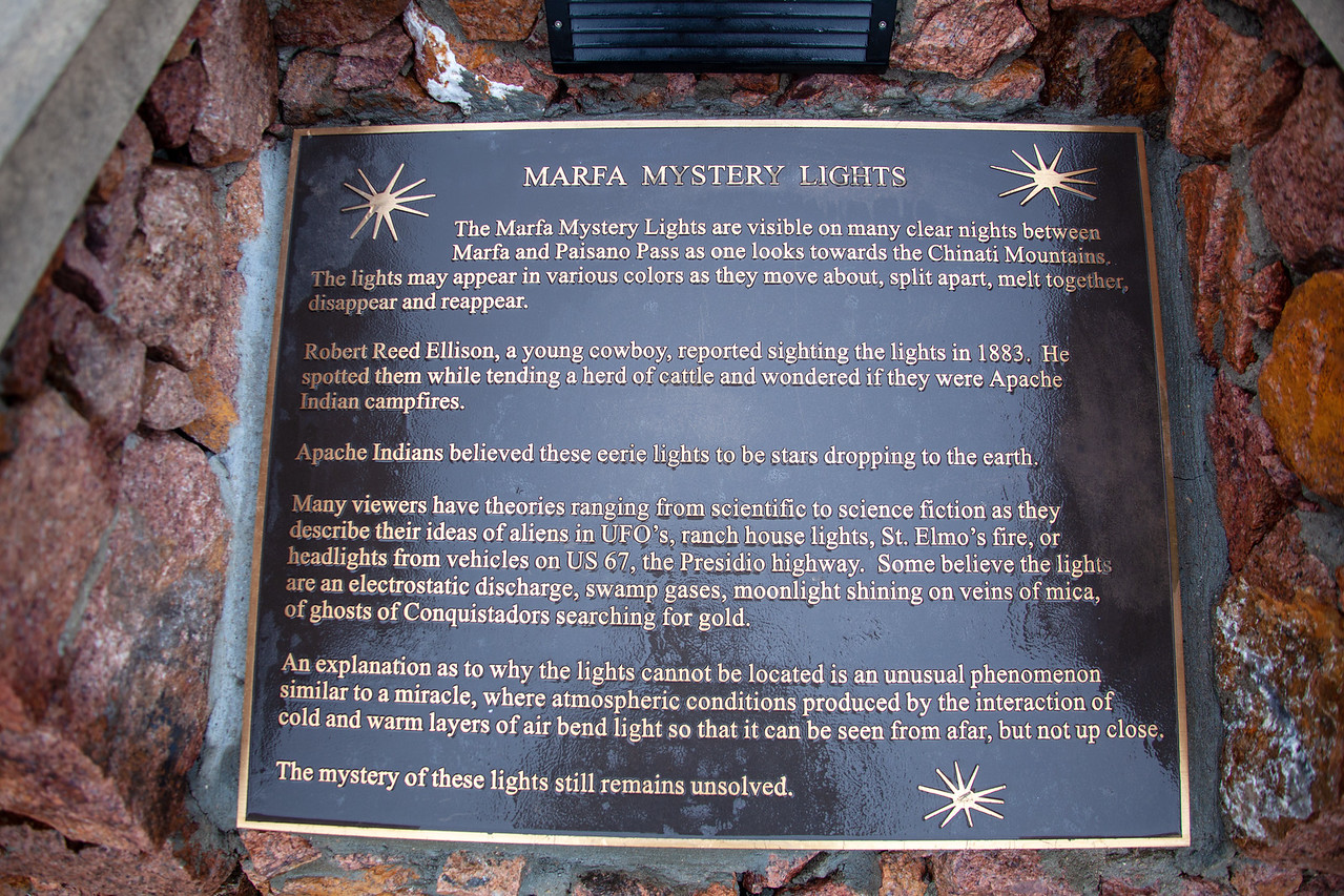 History of the Marfa Ghost Lights