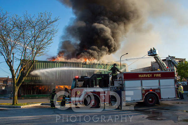 3rd Alarm Commercial Fire (5/5/16)