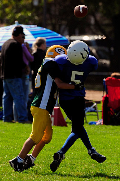 Mighty Mites Week 4 - Colts v. Packers