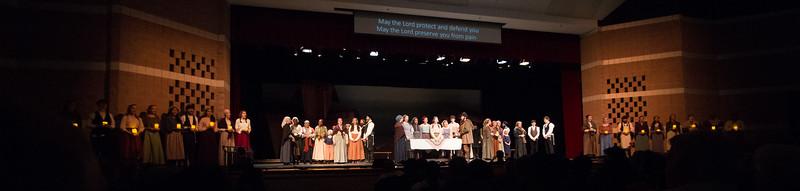 """Sabbath Prayer"" -- Fiddler on the Roof, Montgomery Blair High School, April 24, 2015"