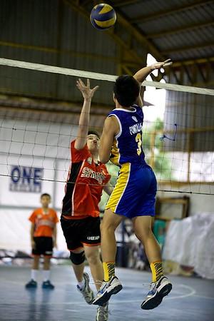 CAMPRISA HS Boys Volleyball 2014 SFAMSC vs Faith