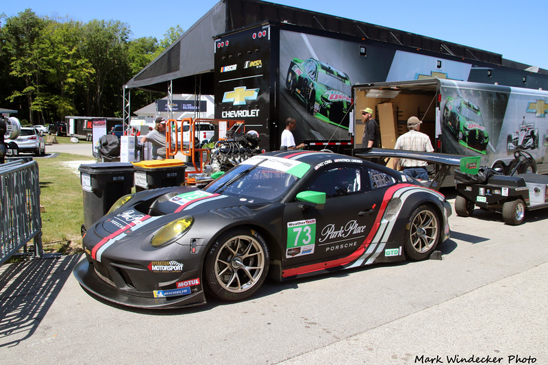 Park Place Motorsports Porsche 911 GT3.R
