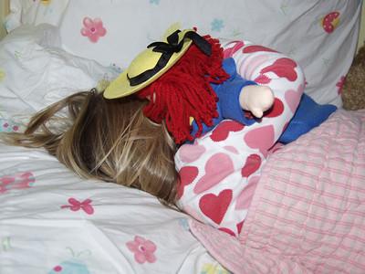 Katie & Madeline Sleeping