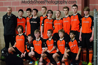 U14 Boys Indoor National Finals game