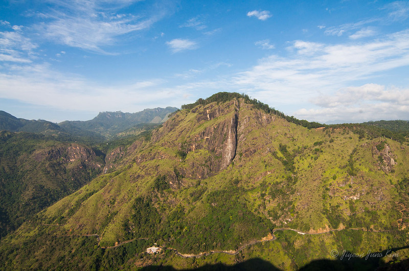 Hiking to Little Adam's Peak