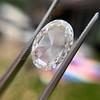 2.32ct Flat Oval Shape Diamond GIA J SI1 19