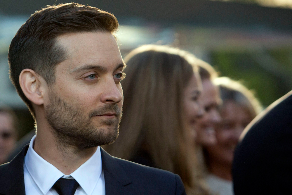 . Actor Tobey Maguire attends the \'The Great Gatsby\' world premiere at Avery Fisher Hall at Lincoln Center for the Performing Arts in New York May 1, 2013. REUTERS/Andrew Kelly