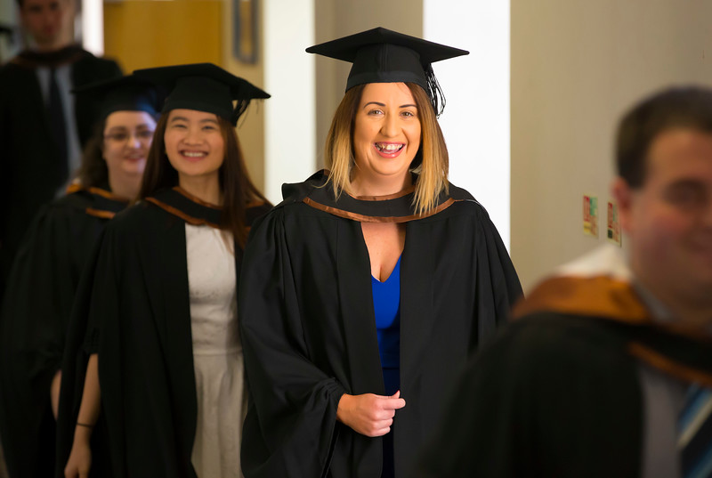 02/11/2017. Waterford Institute of Technology Conferring. Picture: Patrick Browne