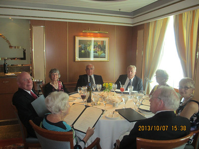 Panama Canal Dinner Pictures
