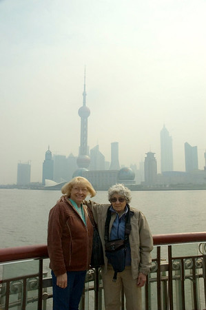 Saturday Morning - Visit to Bund Waterfront - 3/10/07