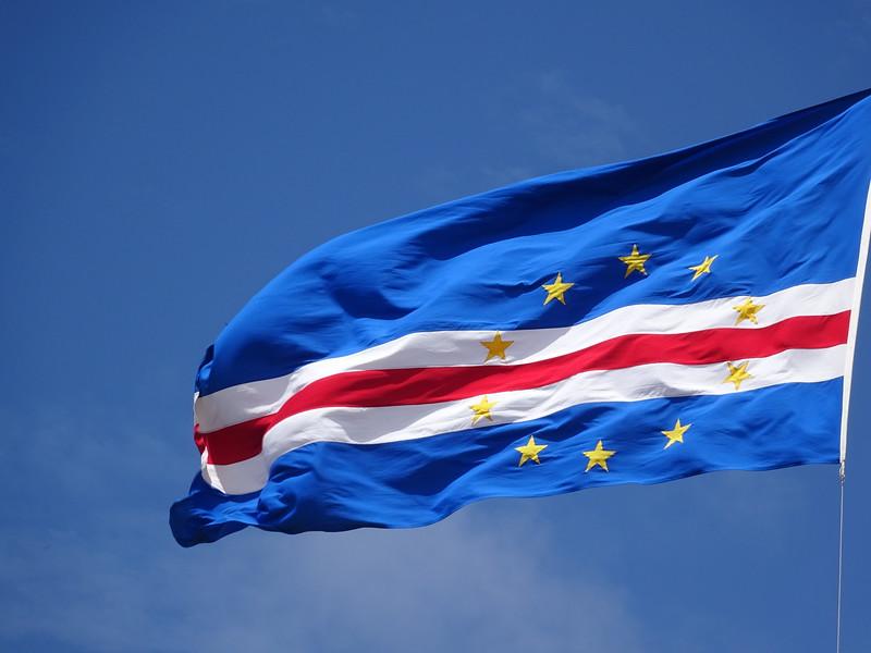 007_Cape Verbe Archipelago. Flag.JPG