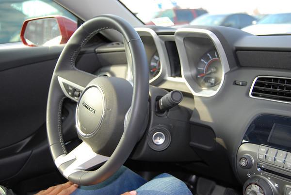 2010 Camaro interior