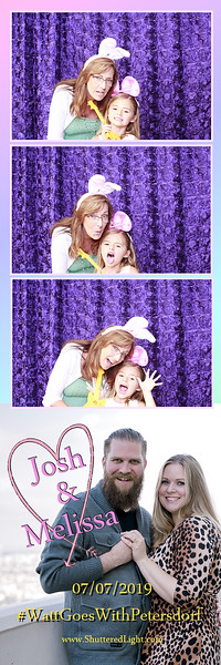 Josh + Melissa Wedding Photo Booth