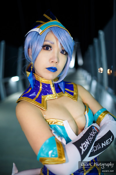 Blue Rose (Kyoka) from Tiger and Bunny