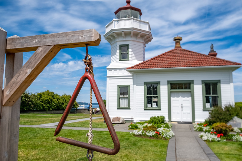 Mukilteo Lighthouse in Everett, WA