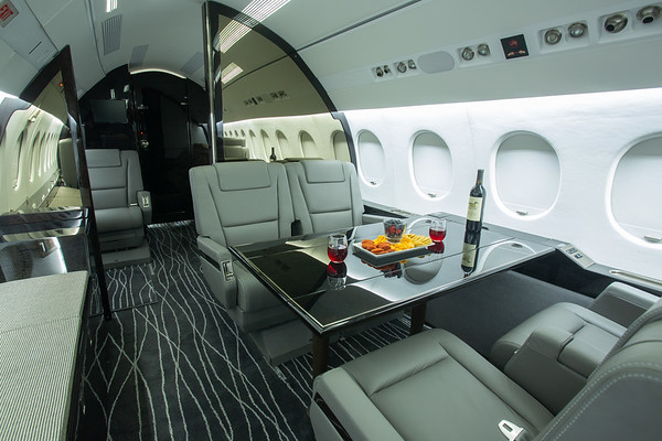 Falcon 900 N767WB Interiors (High Res)